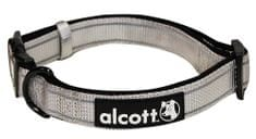 Alcott Nylonový obojok s reflexnými prvkami