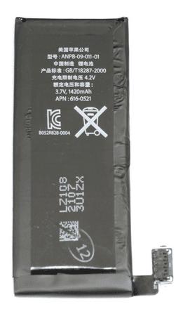 Apple iPhone 4 baterie 1420mAh Li-Pol r.v. 2015 OEM (Bulk)