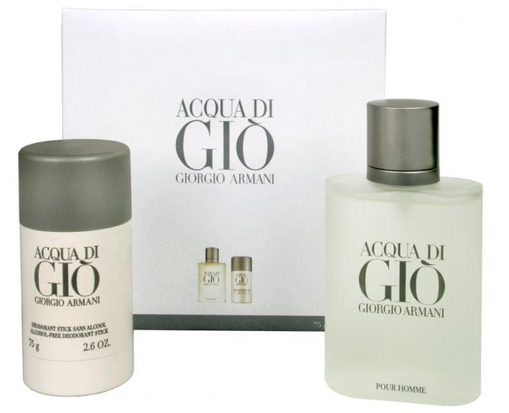 Giorgio Armani Acqua Di Gio Pour Homme - EDT 100 ml + tuhý deodorant 75 ml