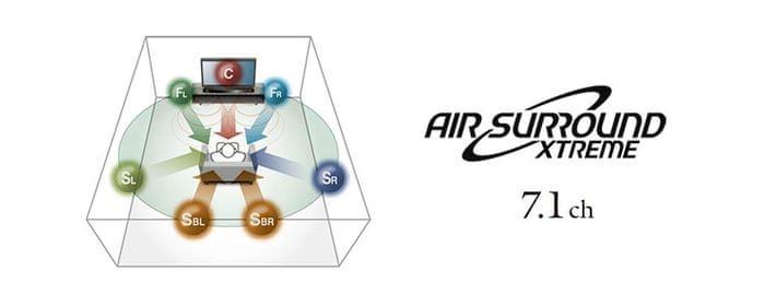 AIR SURROUND XTREME