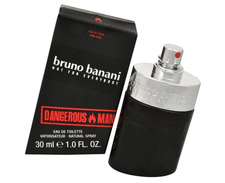 Bruno Banani Dangerous Man - EDT 30 ml