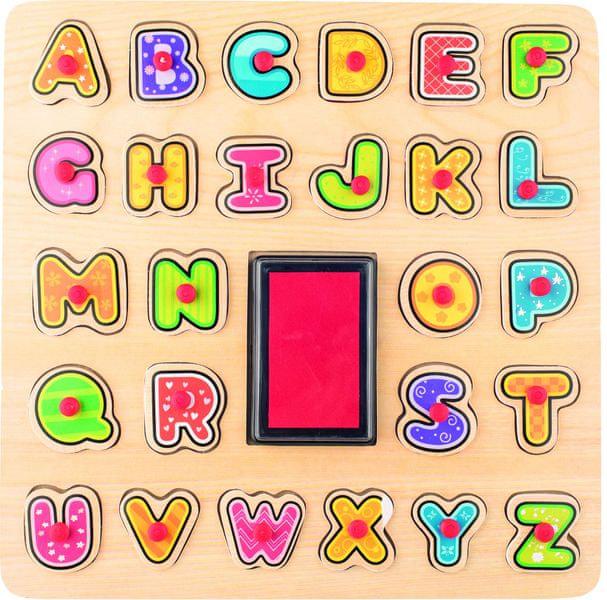 Woody Razítka - Puzzle ABC