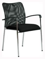 Konferenční židle Spider černá