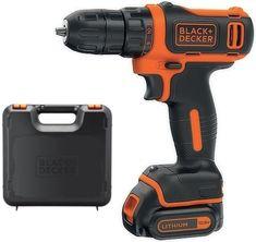 Black+Decker akumulatorski vrtalni vijačnik BDCD12 + kovček