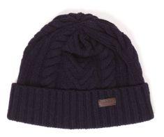 Barbour modrá dámská čepice