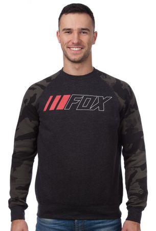 FOX pánská mikina Crewz Crew Fleece XL černá