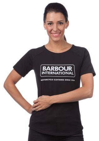Barbour női póló S fekete