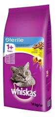 Whiskas sucha karma dla kota Sterile - 14 kg