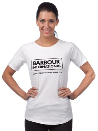 Barbour női póló M fehér