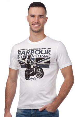 Barbour pánské tričko XL bílá