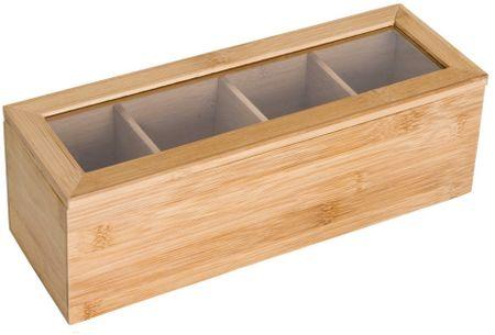 Time Life Bambusová krabička na čaj