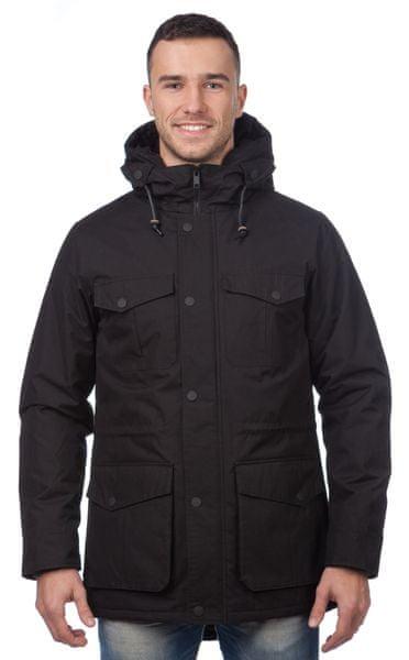 Brave Soul pánská kabát Massey M černá