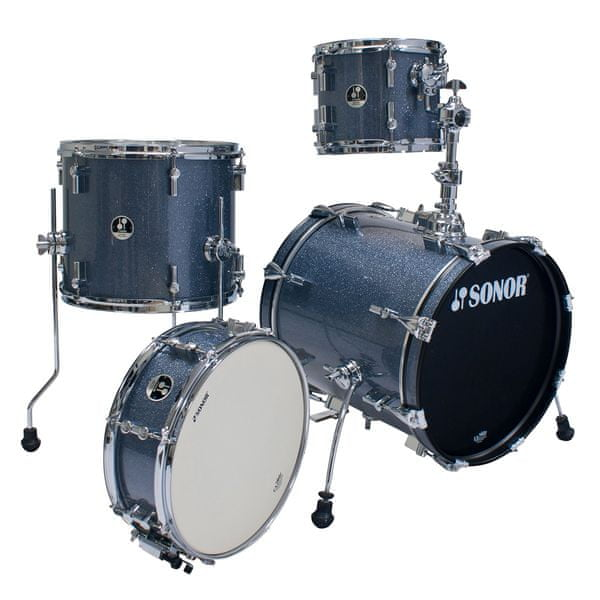 Sonor Safari Special Edition set Black Galaxy sparkle Bicí souprava