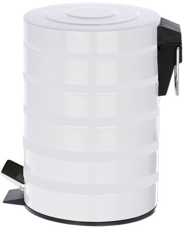 TimeLife Odpadkový kôš 3 l biela