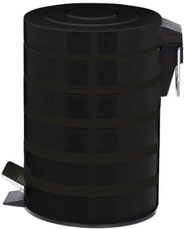 Time Life Odpadkový koš 5 l černá