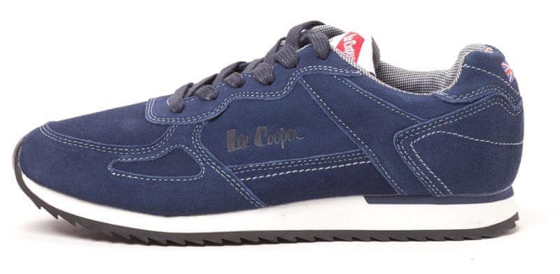 Lee Cooper pánské tenisky Hampton40 modrá