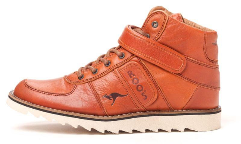 KangaROOS pánská kotníčková obuv Skywalker 40 hnědá