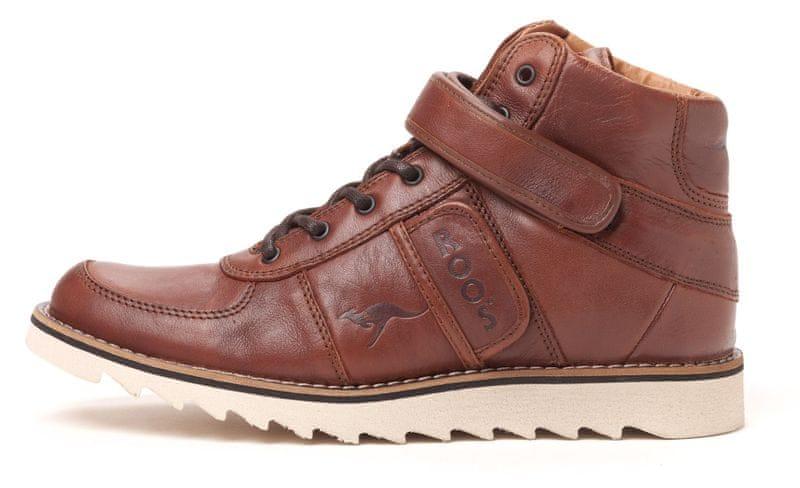 KangaROOS pánská kotníčková obuv Skywalker 44 tmavě hnědá