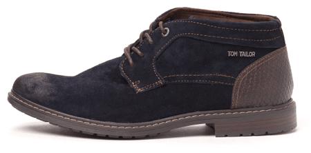 Tom Tailor pánska členková obuv 44 tmavomodrá
