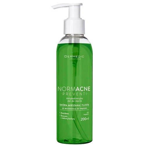 DerMedic Antibakteriální čistící gel NORMACNE Preventi 200 ml