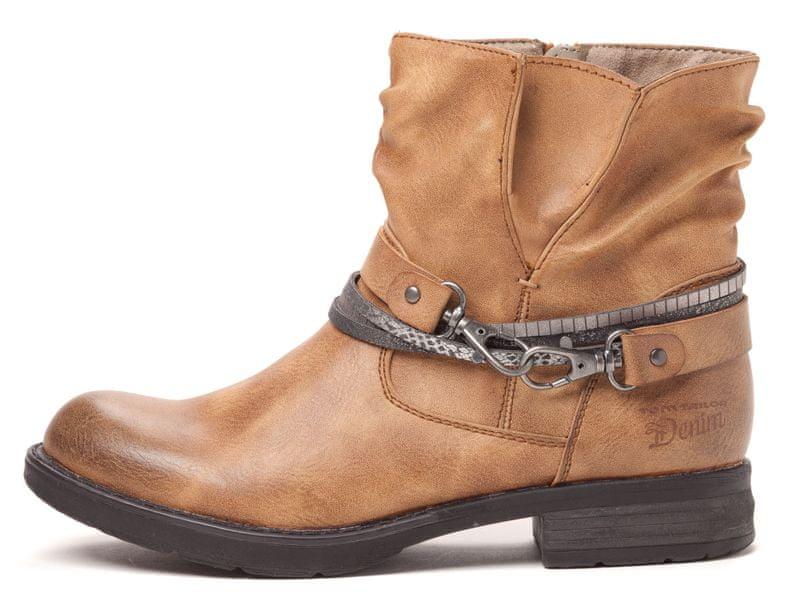 Tom Tailor dámská kotníčková obuv 41 hnědá