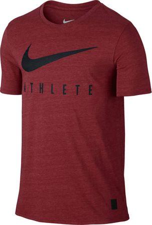 Nike DB Mesh Swoosh Athlete Póló, Piros, XL