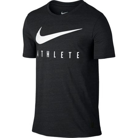 Nike športna majica DB Mesh Swoosh, črna, velikost L