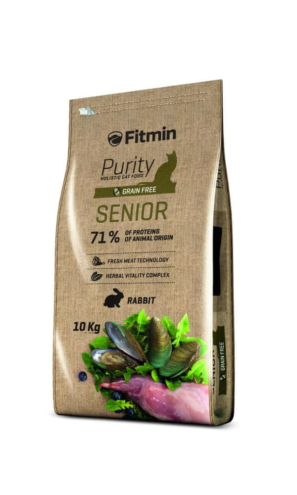 Fitmin cat Purity Senior 10kg