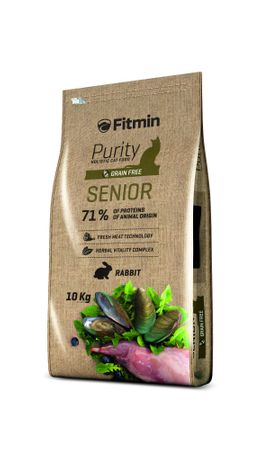 Fitmin cat Purity Senior 1,5 kg