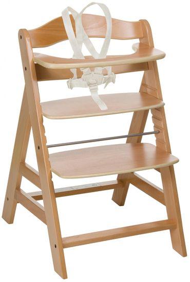 Hauck Židlička Alpha+, dřevěná
