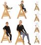 7 - Hauck stol za hranjenje Alpha+ 2019, Walnut