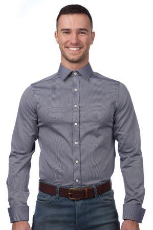 Gant pánská košile 44 modrá