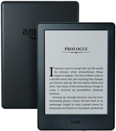 Amazon czytnik e-booków Kindle 8 - czarny (z reklamami)