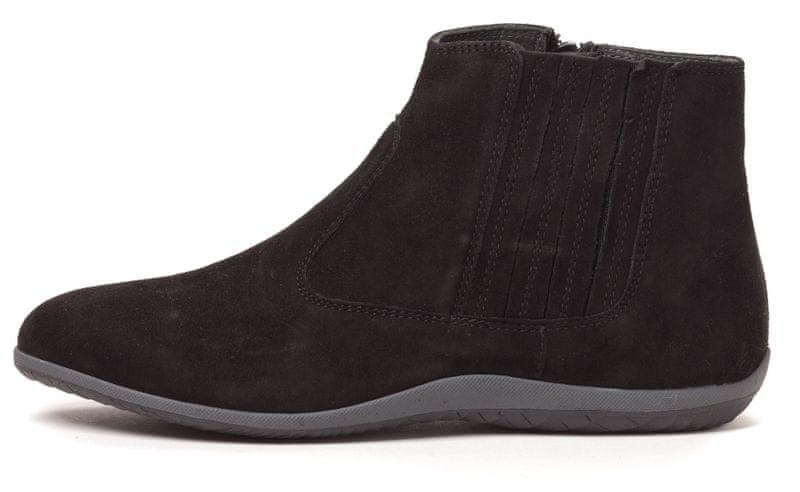Scholl dámská kotníčková obuv Sieves 39 černá