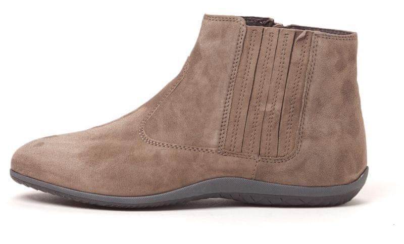 Scholl dámská kotníčková obuv Sieves 37 hnědá