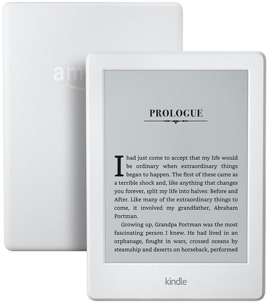 Amazon New Kindle (8) bílý - s reklamou - II. jakost