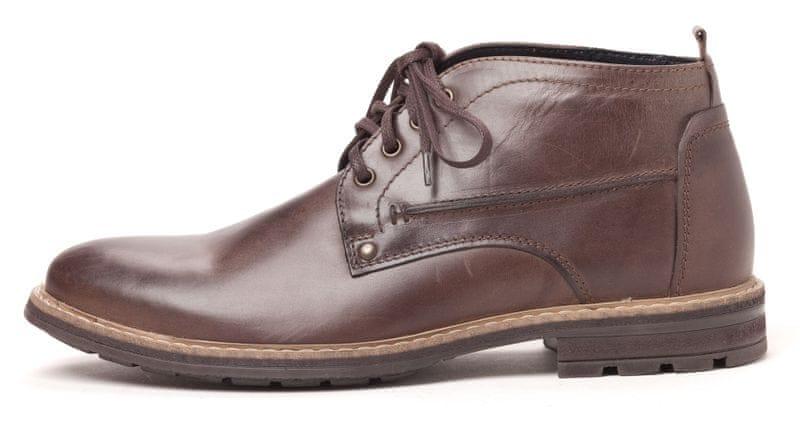 Klondike pánská kotníčková obuv 43 tmavě hnědá
