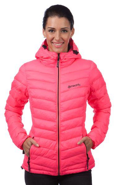MEATFLY dámská bunda Bella S růžová