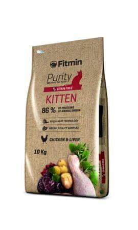 Fitmin karma dla kota Purity Kitten 10kg