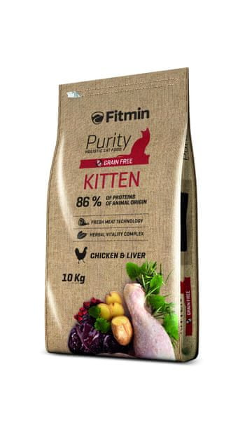 Fitmin cat Purity Kitten 10kg