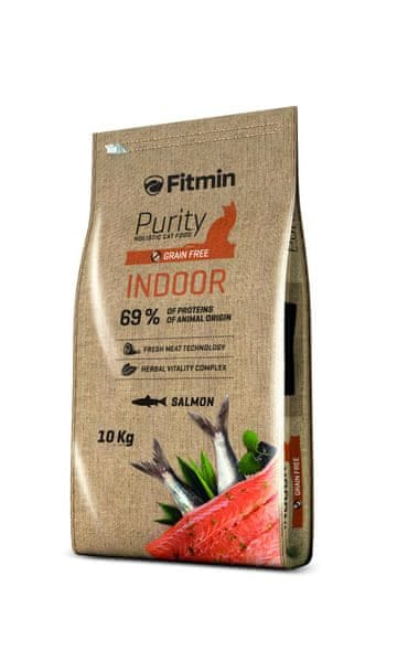 Fitmin cat Purity Indoor 10kg