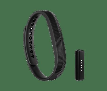 Fitbit merlinik aktivnosti Flex 2, črna