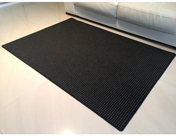 Kusový koberec Birmingham Antracit 80x150 cm