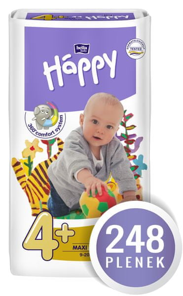 Bella Happy Maxi Plus Big Pack - 248 ks