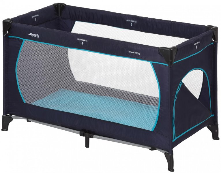 Hauck Dream´n Play Plus 2017, Navy-Aqua