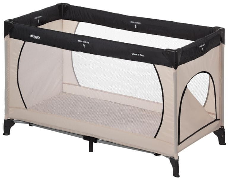 Hauck Dream´n Play Plus 2017, Beige-Grey