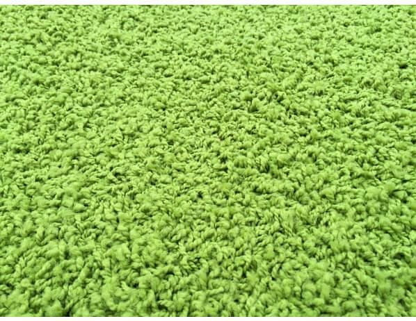 Kusový koberec Color Shaggy zelený 200x300 cm