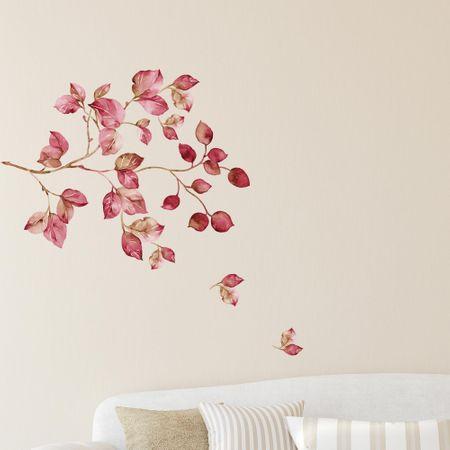 Crearreda stenska nalepka Vijolična veja, XL
