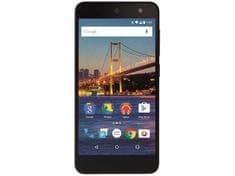 General Mobile GSM telefon  4G LTE, crni
