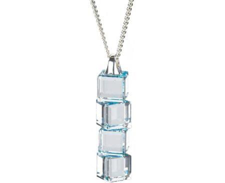 Preciosa Náhrdelník Lilien Aquamarine 6230 67 stříbro 925/1000